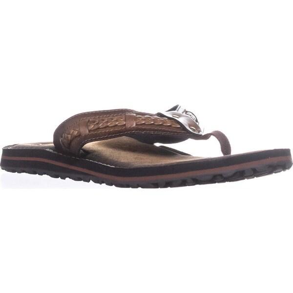 60a954ea1dc6 ... Women s Shoes     Women s Sandals. Clarks Fenner Nerice Braided Flip  Flops