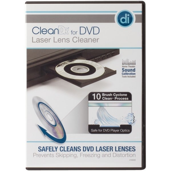 Digital Innovations 4190200 Cleandr(R) For Dvd Laser Lens Cleaner