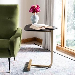 "Link to Safavieh Kaiya C-Table-Black / Gold - 19"" x 15"" x 25"" Similar Items in Living Room Furniture"