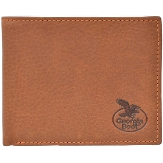 Georgia Wallet Mens Bifold Overlay Feathered Light Brown GBW176 - One size