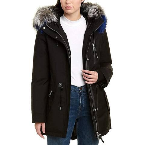 Mackage Womens Trim Down Coat Puffer Large