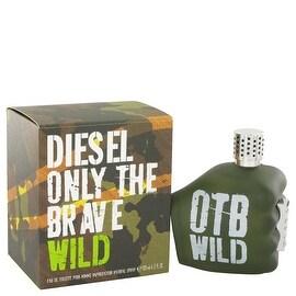 Only The Brave Wild by Diesel Eau De Toilette Spray 4.2 oz - Men