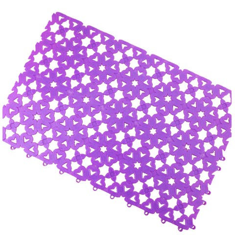 Creative Candy Ground Floor Mat Carpet Anti-skidding - Purple