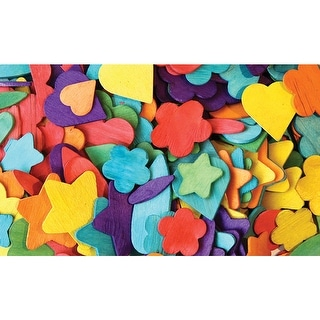 Party Shapes 200 Wooden Pcs