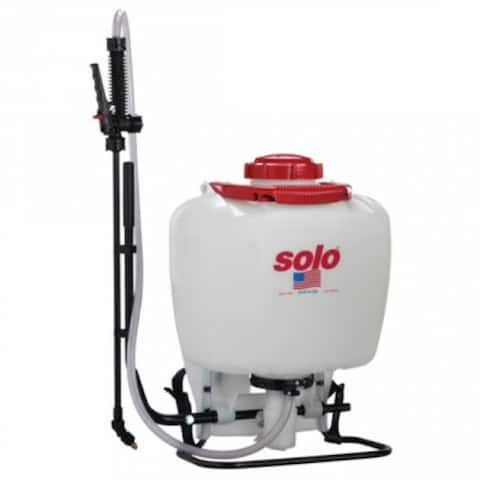 SoloA 425-101 High Pressure Chemical Backpack Applicator Sprayer, 4-Gallon