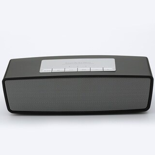TechComm S815 Bluetooth Speaker with Dual 3W Speaker, Hands-free Calling, MicroSD Card Support and Auxiliary Input