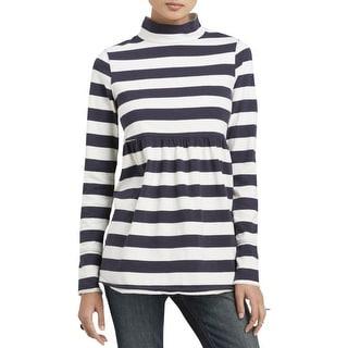 Free People Womens Tunic Top Cotton Striped - xs
