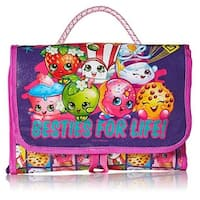 Shopkins Besties For Life Toy Carrying Case, Purple, 10.5x8x1.5 Inches