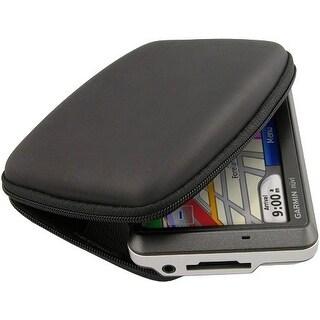 "Garmin 3.5"" / 4.3"" Zippered Black EVA Hard Carrying Case For Garmin GPS New"