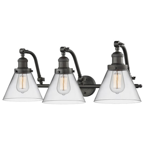 discount 66a1c 436d2 Innovations Lighting 515-3W Large Cone 3-Light 28