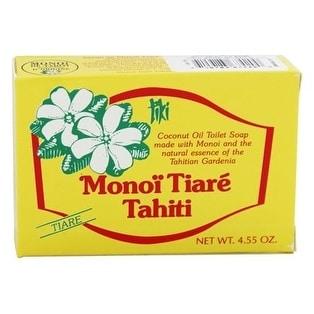 Monoi Bar Soap Gardenia 4.6-ounce