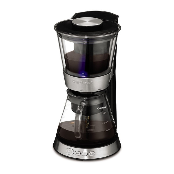 Cuisinart DCB-10 Automatic Cold Brew Coffeemaker, Stainless & Black. Opens flyout.