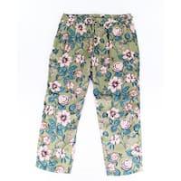 Lauren by Ralph Lauren Green Women's Size 16X28 Pants Stretch