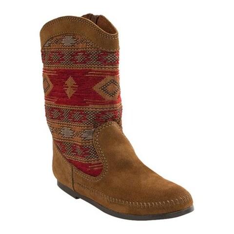 Minnetonka Women's Baja Boot Dusty Brown Suede