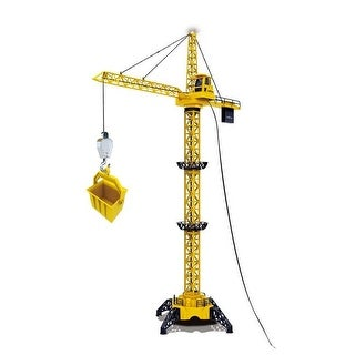 50 in. Tall Wired RC Crawler Crane with Tower Light & Adjustable