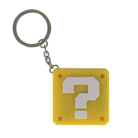Nintendo Super Mario Question Block Key Chain
