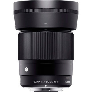 Sigma 30mm f/1.4 DC DN Contemporary Prime Lens for Sony E-Mount - Black