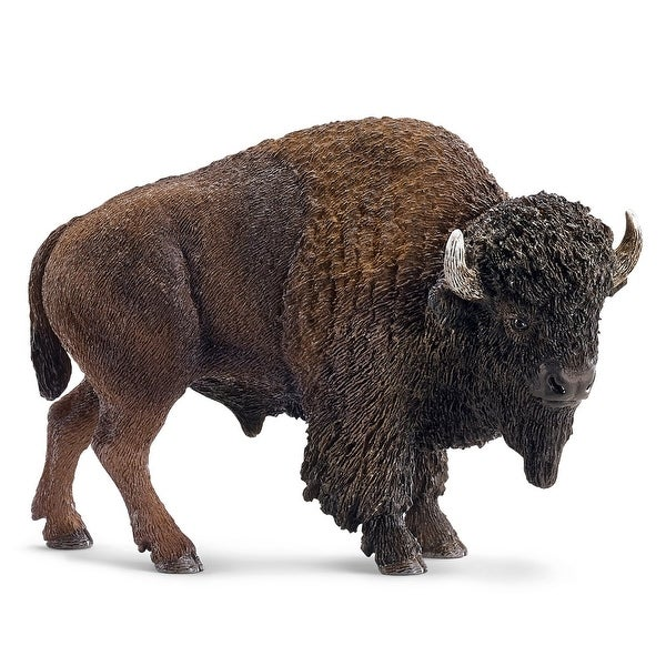 Midvale Heights Bison Celebrate >> Shop Schleich 14714 American Bison Toy Figure Free Shipping On