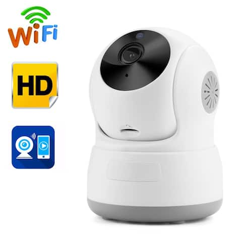 Night Vision Security Camera Network for Warehouse Indoor CCTV HD Wireless Pan&Tilt WIFI IP Camera - M