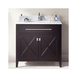 """Miseno MV-TOR36 Torneo 36"""" Free Standing Vanity with Vanity Top and Undermount Sink (3 options available)"""