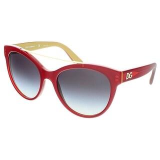 Dolce&Gabbana DG4280 29688G Red Cateye Sunglasses