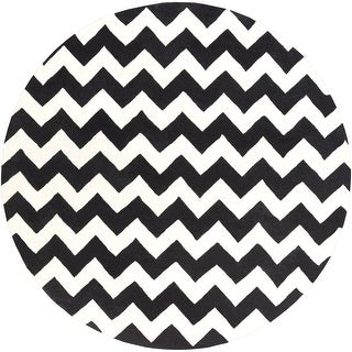 Link to Hand-Tufted Baxter Chevron Wool Rug Similar Items in Casual Rugs
