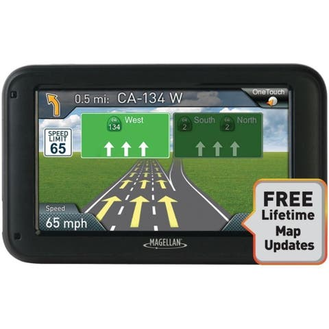 Magellan Roadmate 5322-LM 5-inch Automotive GPS w/ Free Lifetime Map Updates