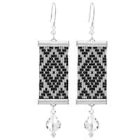 Loom Statement Earrings in Helsinki - Exclusive Beadaholique Jewelry Kit