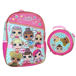 """Link to L.O.L GOO GOO 16"""" Large Backpack with Ball Lunch Bag Similar Items in Printers"""