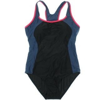ReliBeauty Womens Colorblock Open One-Piece Swimsuit