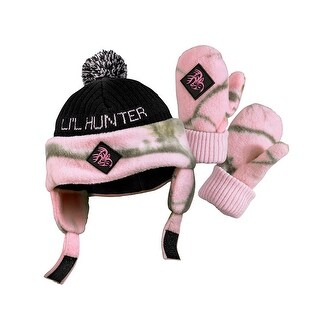 Legendary Whitetails Toddler Lil Hunter Camo Hat & Glove Set - One Size