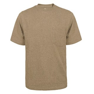 Link to Victory Outfitters Men's Fortified Cotton Extra Length Single Pocket Crewneck T-Shirts Similar Items in Shirts