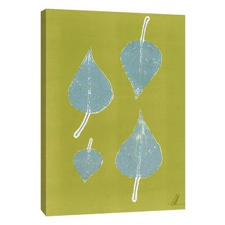 """PTM Images 9-105227  PTM Canvas Collection 10"""" x 8"""" - """"Leaf Sketch II"""" Giclee Leaves Art Print on Canvas"""