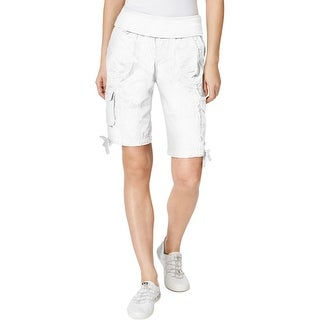 Calvin Klein Performance Womens Bermuda Shorts Cargo Rollover (4 options  available)