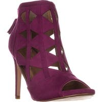 XOXO Charisma Cut-Out Dress Sandals, Magenta