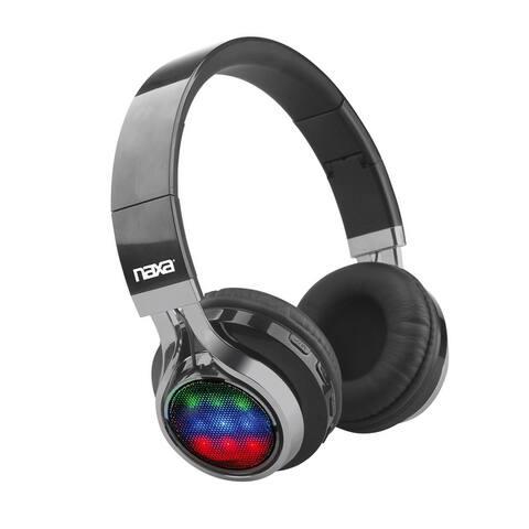 VIBE Bluetooth® Foldable Headphones with Microphone & FM Radio