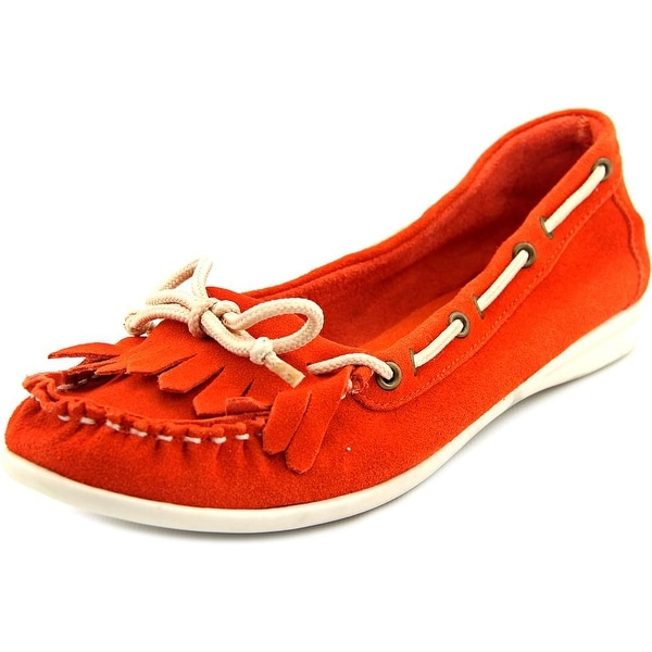 Dirty Laundry Chase Me Moc Toe Suede Boat Shoe