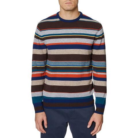 Hickey Freeman Striped Wool & Cashmere-Blend Sweater