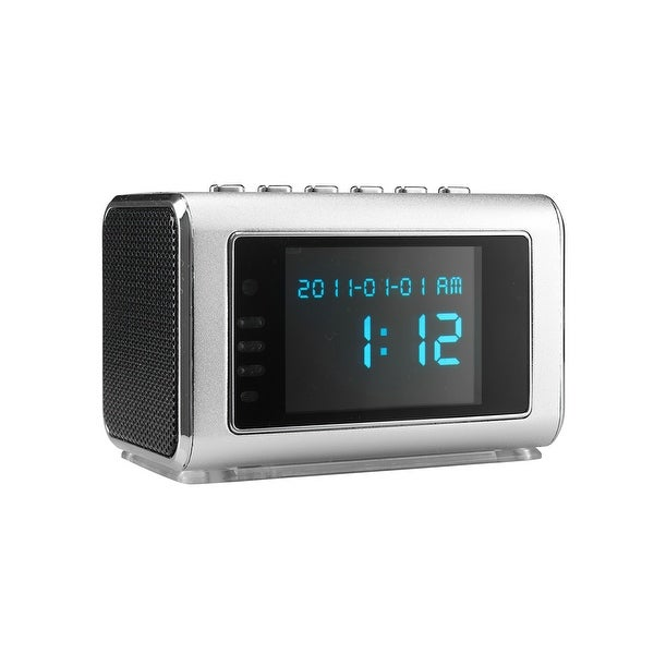 Spytec Aetos 200 Video And Audio Recorder In Mini Clock Radio With 8Hrs Battery