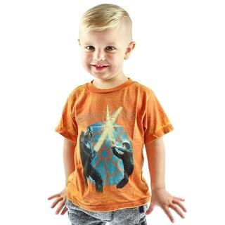 Star Wars Little Boys' Toddler Window View Burnout T-Shirt
