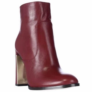 Calvin Klein Karlia Dress Ankle Boots, Dark Red|https://ak1.ostkcdn.com/images/products/is/images/direct/cc744072452d644a7b68550096b9ea71a20ebd09/Calvin-Klein-Karlia-Dress-Ankle-Boots%2C-Dark-Red.jpg?impolicy=medium