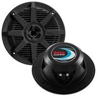 BOSS Audio MR62B 200 Watt (Per Pair), 6.5 Inch, Full Range, 2 Way Weatherproof Marine Speakers (Sold in Pairs)