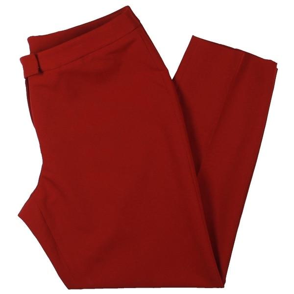 Anne Klein Womens Bowie Dress Pants Office Wear Straight Leg. Opens flyout.