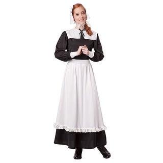 Womens Pilgrim Colonial Halloween Costume
