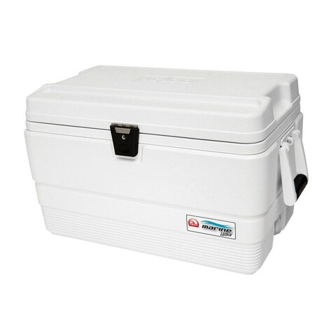 Igloo 44683 Marine Ultra Cooler, White, 54 Quart