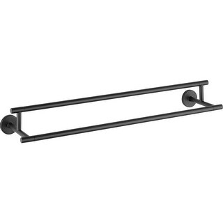 """Delta 75925 Trinsic 24"""" Wall Mounted Double Towel Bar"""