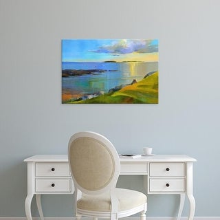 Easy Art Prints Holly Ready's 'Kettle Cove Boats 2' Premium Canvas Art