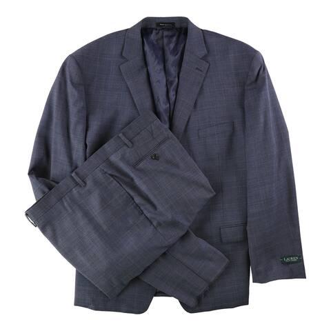Ralph Lauren Mens Classic-Fit Two Button Suit