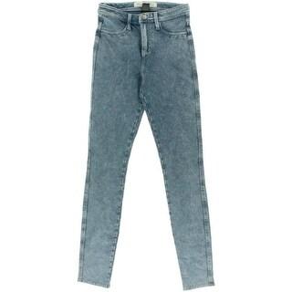 Vanilla Star Womens Juniors Skinny Jeans Denim High Waist