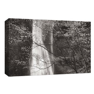 "PTM Images 9-153694  PTM Canvas Collection 8"" x 10"" - ""Double Falls II"" Giclee Waterfalls Art Print on Canvas"